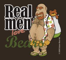 Real Men Love Bears - Vacation by Dubon