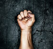 Protest fist by GrandeDuc