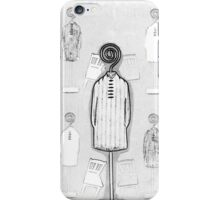 Chair and Figure Abstract iPhone Case/Skin