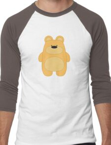 Bear Toy - Blond Men's Baseball ¾ T-Shirt
