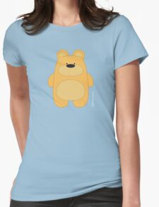 Bear Toy - Blond Womens Fitted T-Shirt