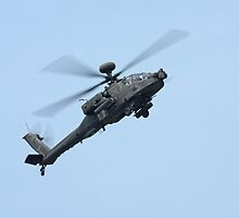 Apache Longbow Helicopter by Karl R. Martin