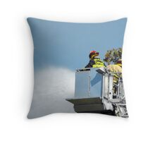 Water from Above Throw Pillow
