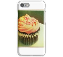 Cupcake with sprinkles iPhone Case/Skin
