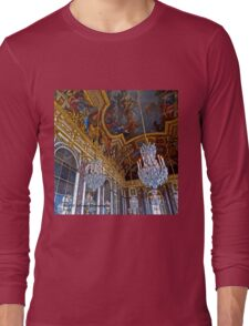 France - Versailles Chandeliers Long Sleeve T-Shirt
