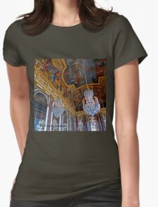 France - Versailles Chandeliers Womens Fitted T-Shirt