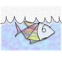 Wire Fish Photographic Print