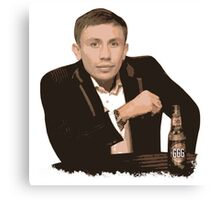 Gennady Golovkin - The Most Interesting Man in the World Canvas Print