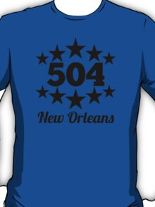 504 New Orleans T-Shirt