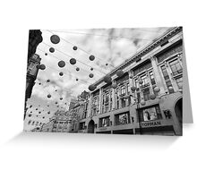 Hanging Baubles Greeting Card