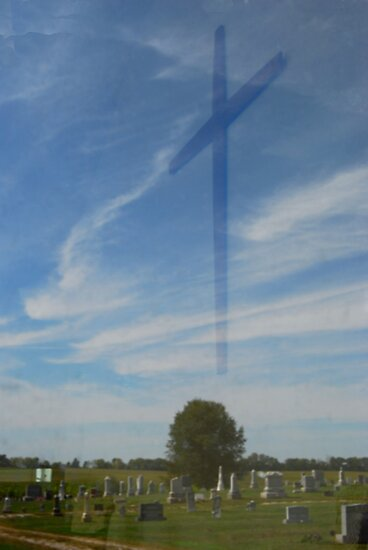 Mann's Chapel/Cemetery Reflection by mnkreations