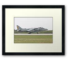 US Marine Harrier Framed Print