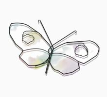 Wire Butterfly Kids Clothes