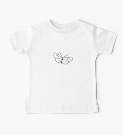Wire Butterfly Baby Tee