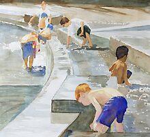 Memorial Day Waterworks by JennyArmitage
