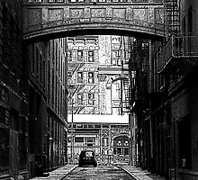 Dark Alley by Jeff Blanchard