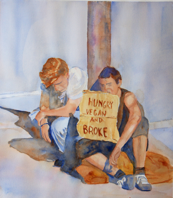 Hungry, Vegan and Broke by JennyArmitage