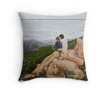 Spirit of the Upper Galilee. Throw Pillow