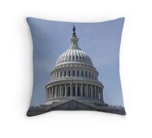The US Capital Building Throw Pillow