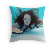 SwimSuit Throw Pillow