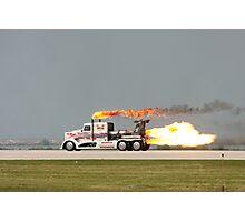 Jet Truck Photographic Print