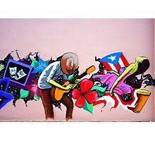Puerto Rico's Street Art Photographic Print