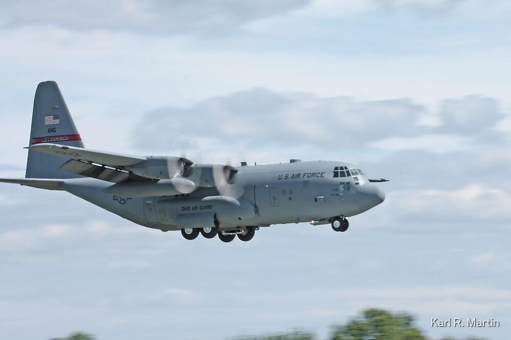 USAF C-130 Hercules by Karl R. Martin