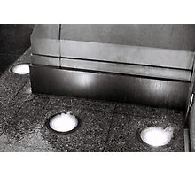 Rain On Lights - Chicago, IL Photographic Print