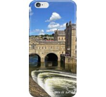 England - Covered Bridge in Bath iPhone Case/Skin