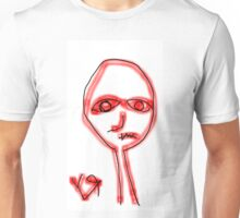"""This Human vs All Other Humans"" by Richard F. Yates Unisex T-Shirt"