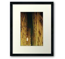 Alleyway Roofline - Vienna, Austria Framed Print