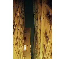 Alleyway Roofline - Vienna, Austria Photographic Print