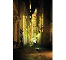 Alleyway - Vienna, Austria Photographic Print