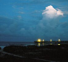 White Cloud at Dusk - Pawleys Island, SC by Eric Cook
