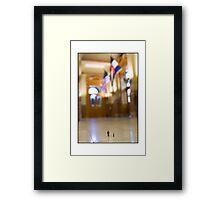 Government Officals Framed Print