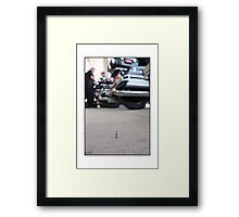 Police Officer at The Democratic National Convention Framed Print