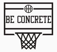 Be Concrete  Kids Tee