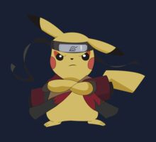 pokemon naruto pikachu cute chibi anime shirt by JordanReaps