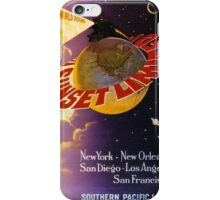 South Pacific Lines Railway Poster iPhone Case/Skin