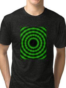 In Circles (Green Version) Tri-blend T-Shirt