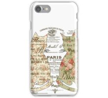Cats Typography iPhone Case/Skin