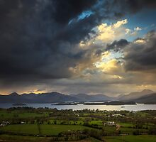 View from Duncryne Hill by NeilBarr