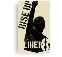 LIBER8 - rise up Canvas Print