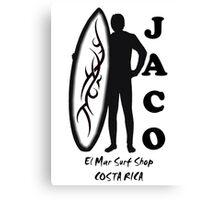 Jaco El Mar Surf Shop Canvas Print