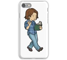 Sam the man of letters iPhone Case/Skin