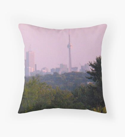 From Country to Town Throw Pillow