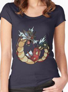 Gyarados - Pokemon Women's Fitted Scoop T-Shirt