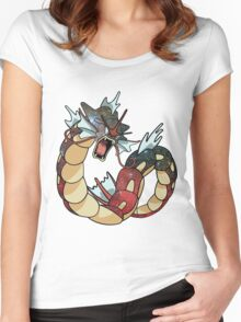 Gyarados - Pokemon Women's Fitted Scoop T-Shirt