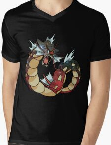 Gyarados - Pokemon Mens V-Neck T-Shirt