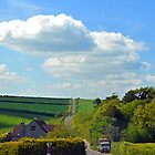 Almost in Lyme Dorset UK by lynn carter